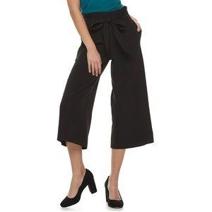 Apt 9 Wide Leg Crop Pants size Large NWT